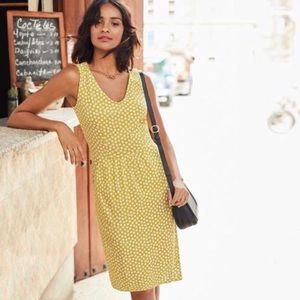 Boden Melinda floral dress sleeveless